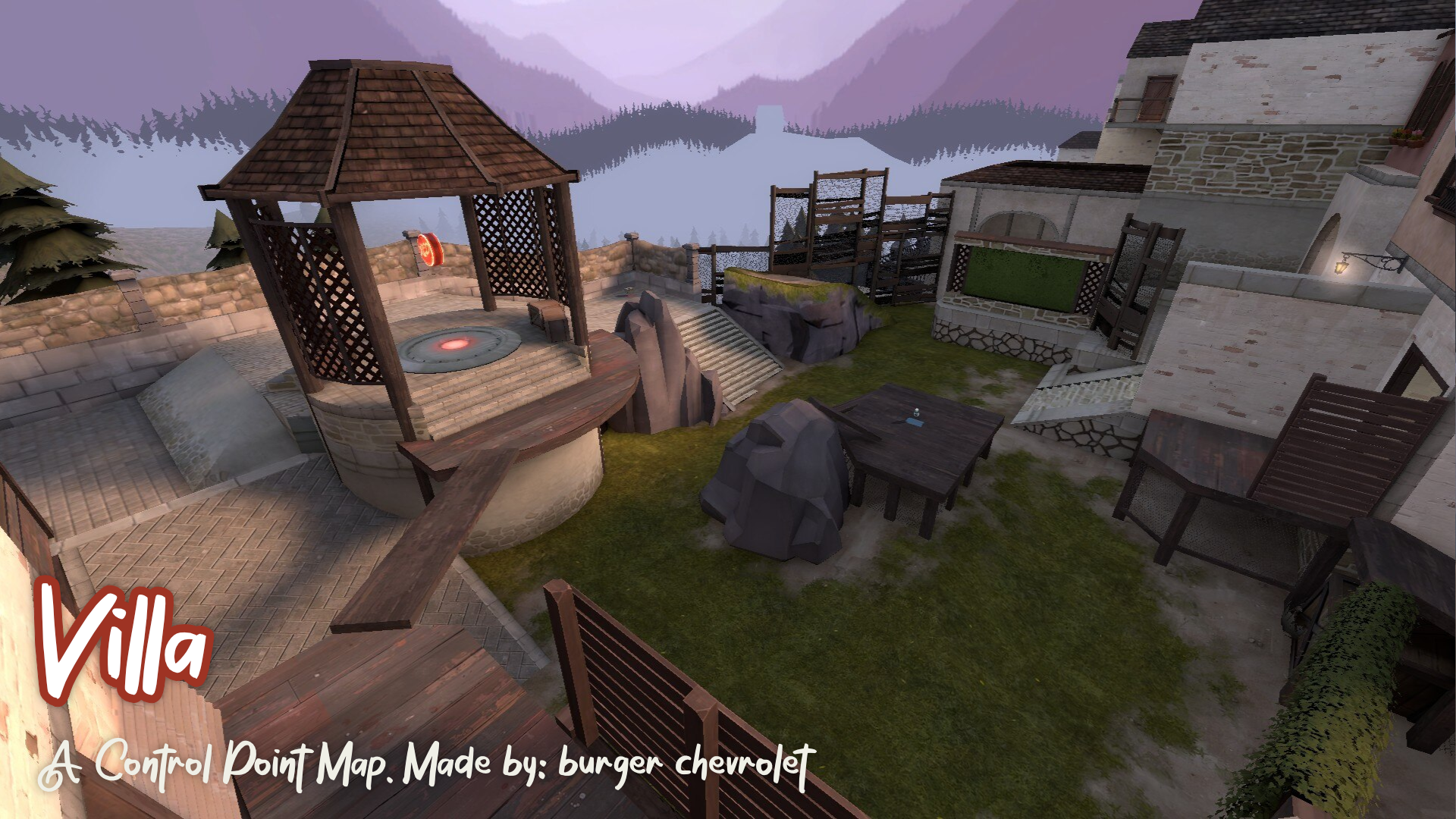Villa. A Control Point Map. Made by: burger chevrolet